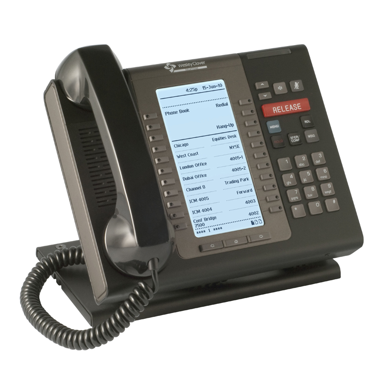 Trading turret phone system